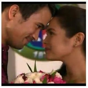 Filipino American Sam Milby and Judy Ann Santos